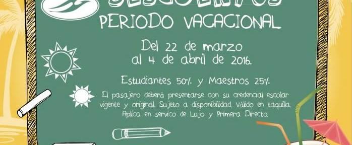Grupo de Autobuses Pullman de Morelos ofrece descuentos a estudiantes