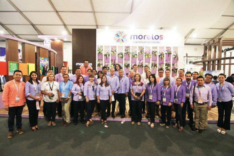 Morelos obtiene dos premios en Tianguis Turístico México 2018