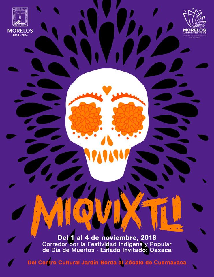 Cuernavaca ya está listo para su festival Miquixtli