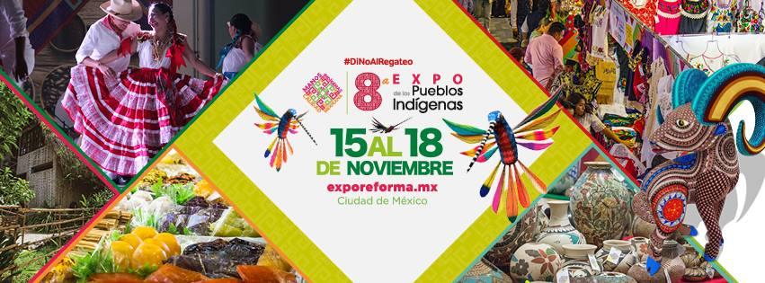 Morelos presente en la 8va Expo de los pueblos indígenas en Ciudad de México