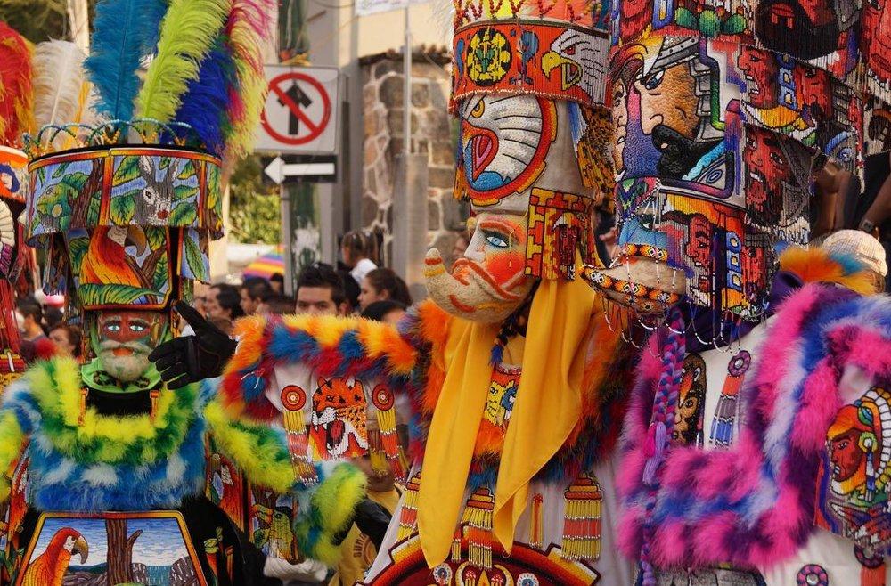 Calendario de la temporada de carnavales 2020 en el estado de Morelos
