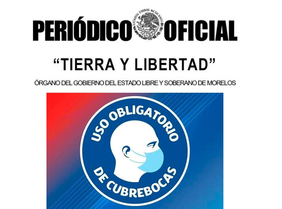 Entra en vigor el uso obligatorio de cubrebocas en Morelos, se aplicarán multas